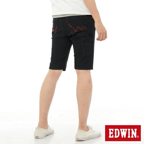 【1290元優惠↘】EDWIN JERSEYS迦績工作牛仔短褲-男-原藍色 1