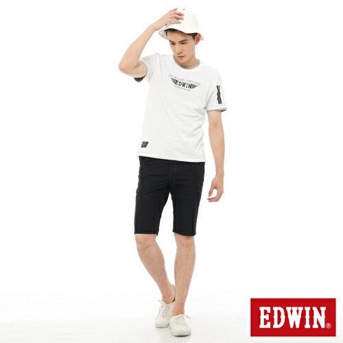 【1290元優惠↘】EDWIN JERSEYS迦績工作牛仔短褲-男-原藍色 2