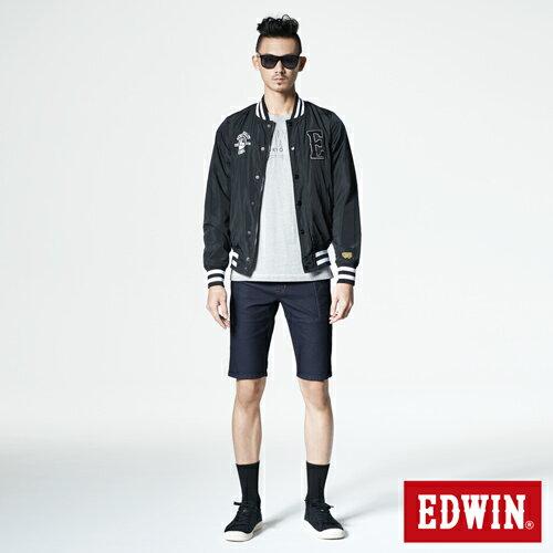 【1290元優惠↘】EDWIN JERSEYS迦績工作牛仔短褲-男-原藍色 3