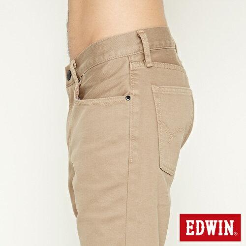 【過年加碼。2件再9折優惠↘】EDWIN 503 COOL快乾五袋式 基本短褲-男款 灰卡其 6