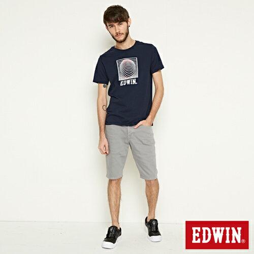 【9折優惠↘】EDWIN 503 COOL快乾五袋式 基本短褲-男款 銀灰色 3