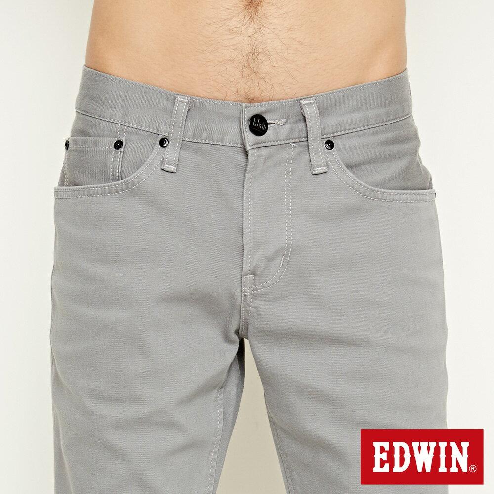 【9折優惠↘】EDWIN 503 COOL快乾五袋式 基本短褲-男款 銀灰色【單筆888輸入代碼fashion2228-2折100元↘單筆999點數13倍↘再抽2萬里程數↘】 4