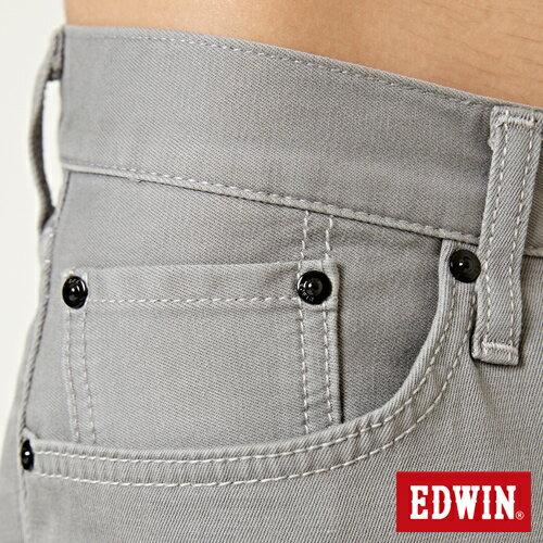 【9折優惠↘】EDWIN 503 COOL快乾五袋式 基本短褲-男款 銀灰色【單筆888輸入代碼fashion2228-2折100元↘單筆999點數13倍↘再抽2萬里程數↘】 7