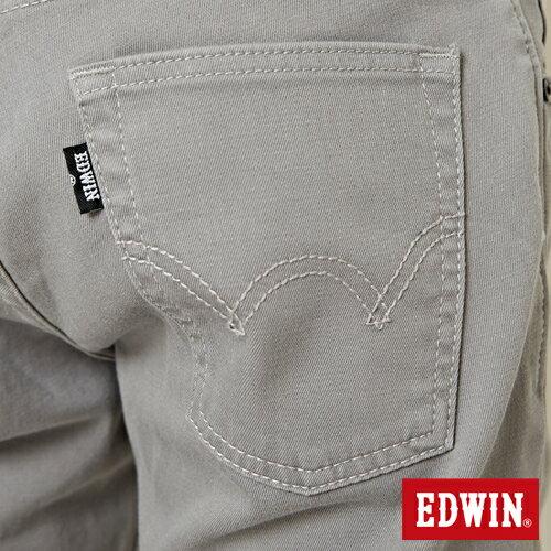 【9折優惠↘】EDWIN 503 COOL快乾五袋式 基本短褲-男款 銀灰色 8