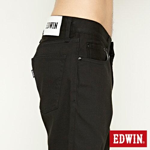 【9折優惠↘】EDWIN 503 COOL快乾五袋式 基本短褲-男款 黑色【單筆888輸入代碼fashion2228-3折100元↘單筆999點數13倍↘再抽2萬里程數↘】 6
