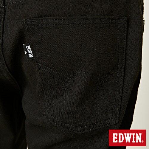 【9折優惠↘】EDWIN 503 COOL快乾五袋式 基本短褲-男款 黑色【單筆888輸入代碼fashion2228-3折100元↘單筆999點數13倍↘再抽2萬里程數↘】 8