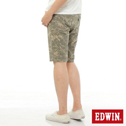【1290元優惠↘】EDWIN JERSEYS迦績超彈力印花短褲-男-淺卡其 1