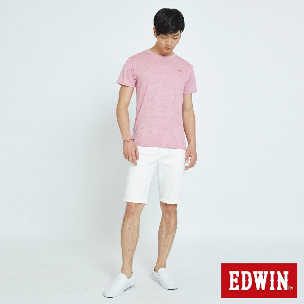 EDWIN 503 KAKHI 基本五袋式 五分色短褲-男款 白色 SHORTS 4