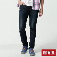 EDWIN LINE 大尺碼 合身 直筒牛仔褲