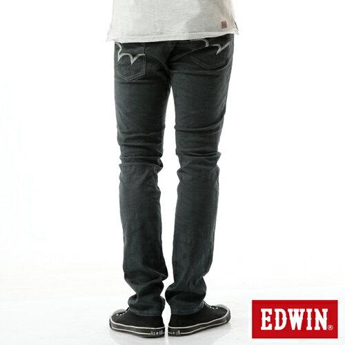 【新品上市↘】【大尺碼】EDWIN EDGE迷彩提織後染窄直筒褲-男款 墨綠【APP下單滿799輸入代碼APP170622折100元↘序號限用一次↘】 1