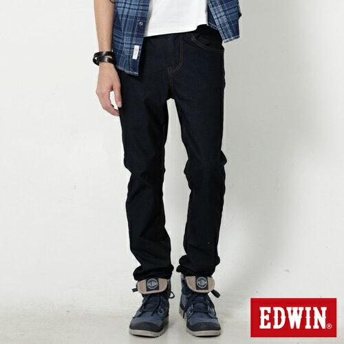 【APP領券9折】EDWIN JERSEYS 迦績x EDGE 雅痞窄直筒牛仔褲-男款  原藍色 SLIM