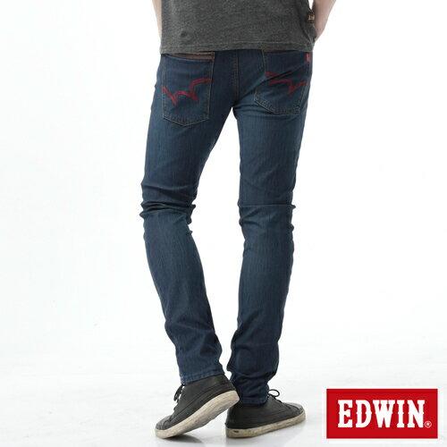 【新品送野餐墊↘】EDWIN JERSEYS x EDGE 迦績雅痞窄管牛仔褲-男款 石洗綠【9 / 30前指定新品單筆滿3800就送EDWIN迷彩野餐墊↘隨貨寄出↘】 1