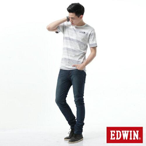 【新品送野餐墊↘】EDWIN JERSEYS x EDGE 迦績雅痞窄管牛仔褲-男款 石洗綠【9 / 30前指定新品單筆滿3800就送EDWIN迷彩野餐墊↘隨貨寄出↘】 2