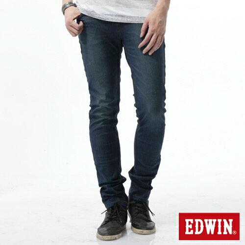 【新品送野餐墊↘】EDWIN JERSEYS x EDGE 迦績雅痞窄管牛仔褲-男款 石洗綠【9 / 30前指定新品單筆滿3800就送EDWIN迷彩野餐墊↘隨貨寄出↘】 0
