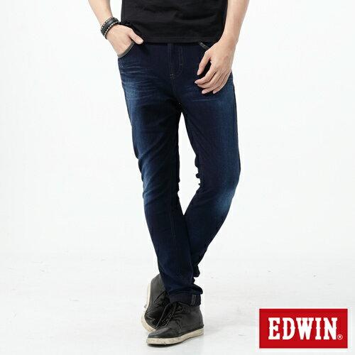 【2200元優惠↘】【大尺碼】EDWIN JERSEYS 503迦績CARGO 牛仔褲-男款 酵洗藍 0