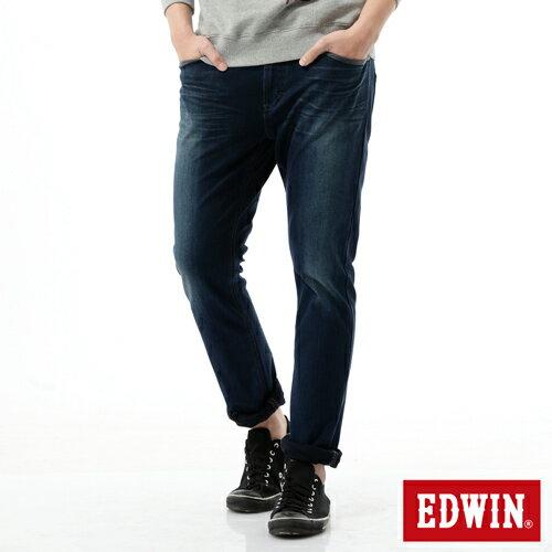 【2200元優惠↘】【大尺碼】EDWIN JERSEYS 503迦績CARGO 牛仔褲-男款 拔洗藍