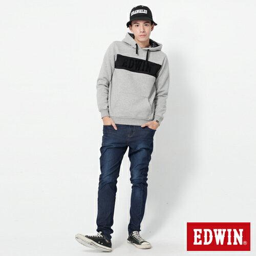 EDWIN JERSEYS 迦績 x E-F 紅袋花窄直筒牛仔褲-男款 酵洗藍 樂天獨家 SILM 2