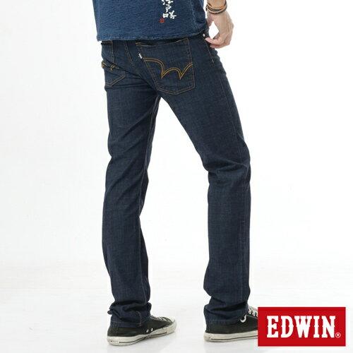 【9折優惠↘】EDWIN EDEG 輕爽COOL 中直筒牛仔褲-男-原藍 1