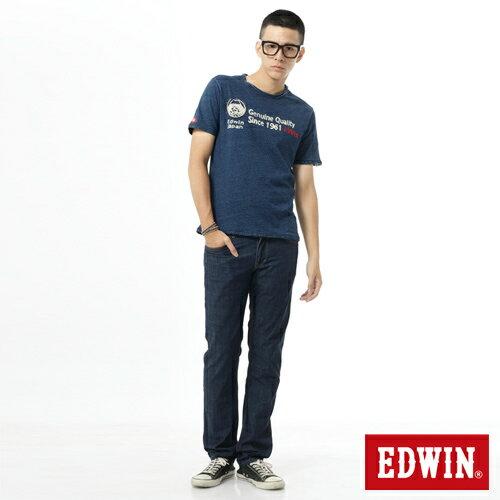 【9折優惠↘】EDWIN EDEG 輕爽COOL 中直筒牛仔褲-男-原藍 2