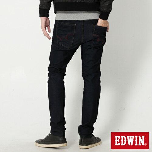 【過年加碼。2件再9折優惠↘】EDWIN JERSEYS x EDEG 迦績修身窄管牛仔褲-男款 原藍 1