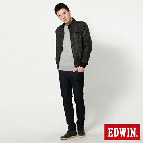 【過年加碼。2件再9折優惠↘】EDWIN JERSEYS x EDEG 迦績修身窄管牛仔褲-男款 原藍 2