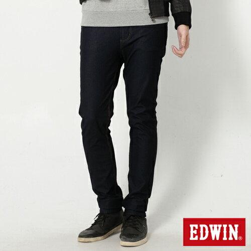【過年加碼。2件再9折優惠↘】EDWIN JERSEYS x EDEG 迦績修身窄管牛仔褲-男款 原藍 0