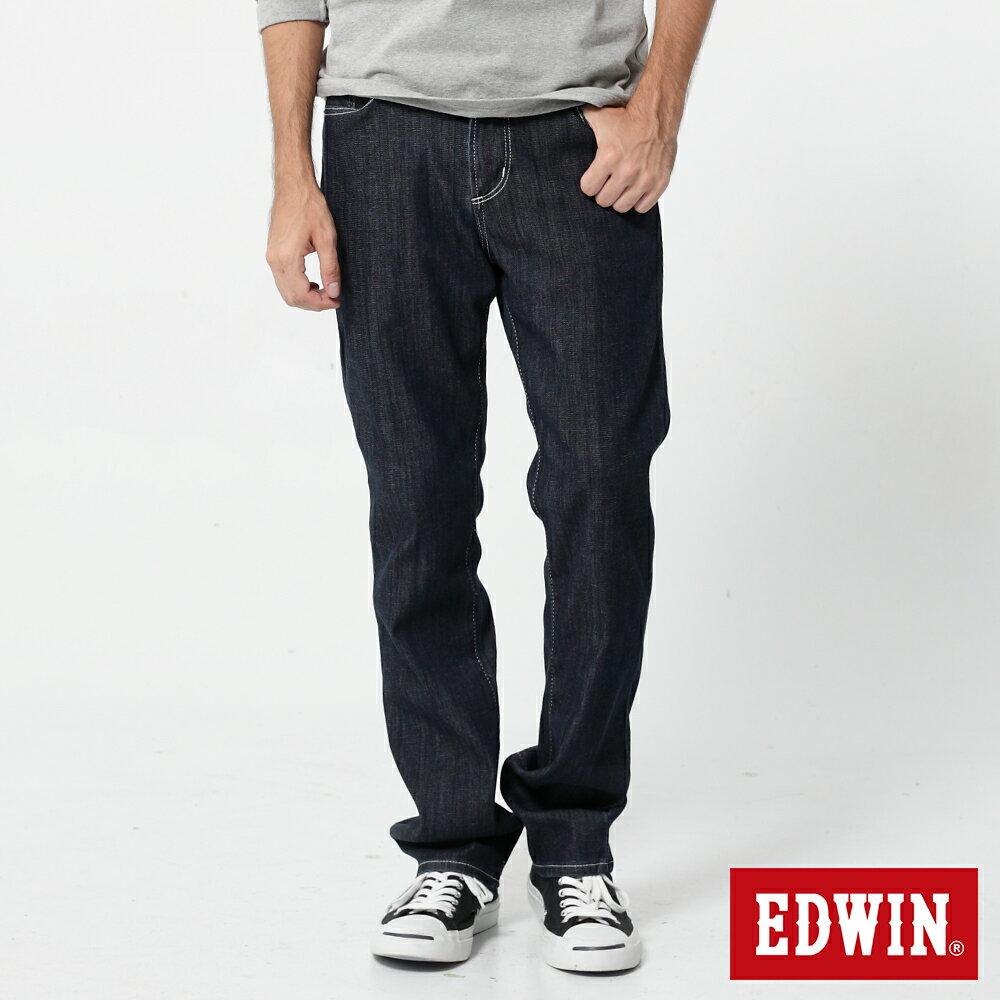 EDWIN 503 COOL RELAX 經典五袋式 中直筒牛仔褲-男款 原藍色 STRAIGHT