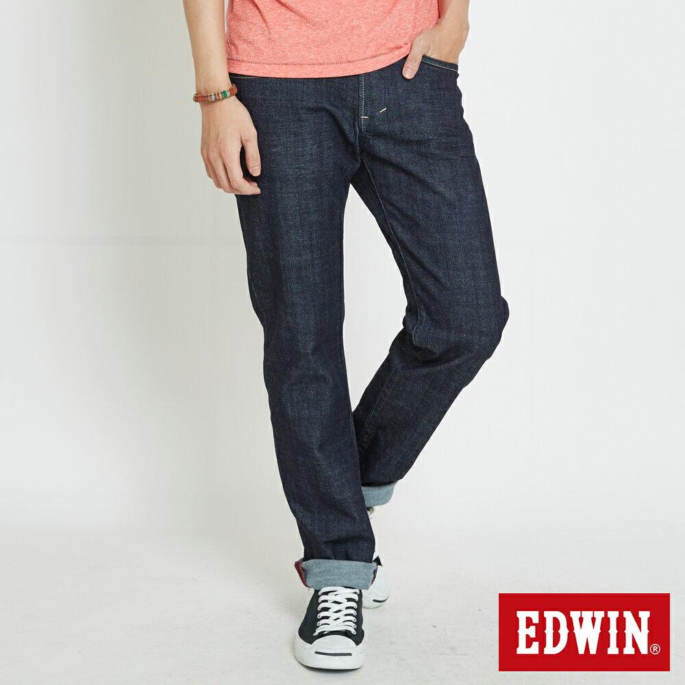 EDWIN 503 EDGE LINE 限定版 中直筒牛仔褲 (金色袋花) -男款 原藍色 STRAIGHT