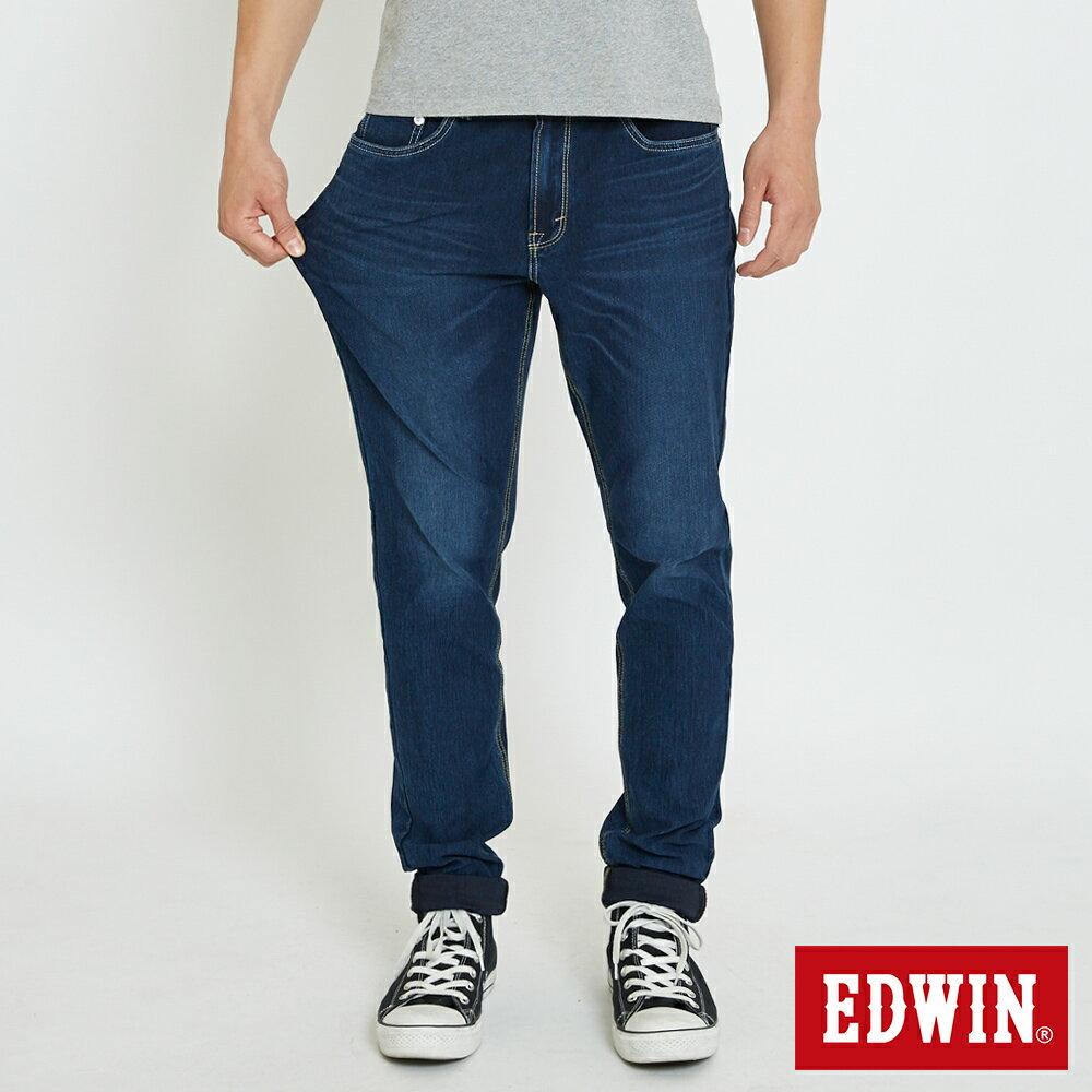 【新品上市↘】【大尺碼】EDWIN JERSEYS迦績涼感 AB牛仔褲-男款 石洗綠【5月會員消費滿3000元再賺15%點數】