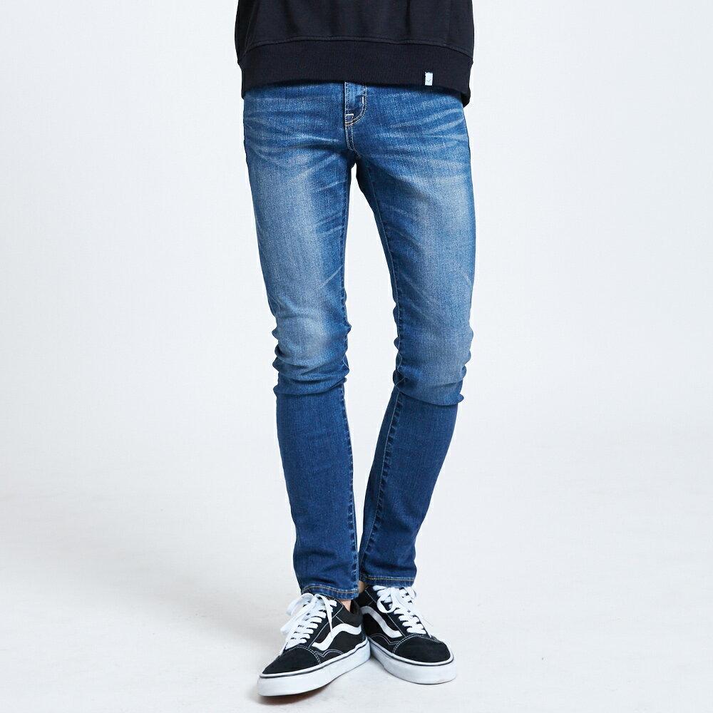 新品↘EDWIN 503 BASIC 大尺碼 輕量涼感 窄直筒牛仔褲-男款 石洗藍【天天消費滿1200→12 / 13憑券序號12S120L再折120元】 1