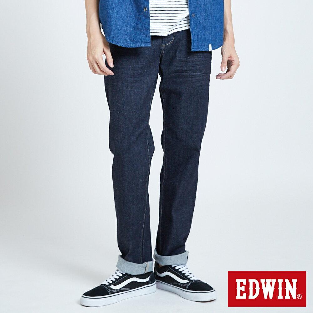 新品↘EDWIN 503 BASIC 基本五袋式 中直筒牛仔褲-男款 原藍色 STRAIGHT 0