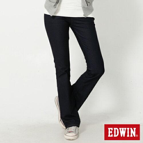 【2000元優惠↘】EDWIN JERSEYS迦績修身 靴型牛仔褲-女款 原藍色【結帳輸入序號 Nov-edwin再折200↘數量有限↘限用一次】 0