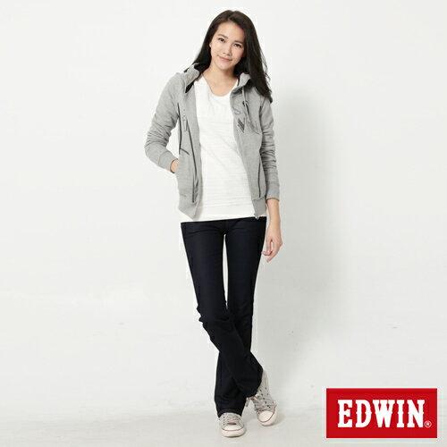 【2000元優惠↘】EDWIN JERSEYS迦績修身 靴型牛仔褲-女款 原藍色【結帳輸入序號 Nov-edwin再折200↘數量有限↘限用一次】 2
