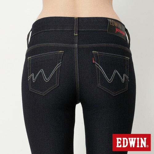 【2000元優惠↘】EDWIN JERSEYS迦績修身 靴型牛仔褲-女款 原藍色【結帳輸入序號 Nov-edwin再折200↘數量有限↘限用一次】 4