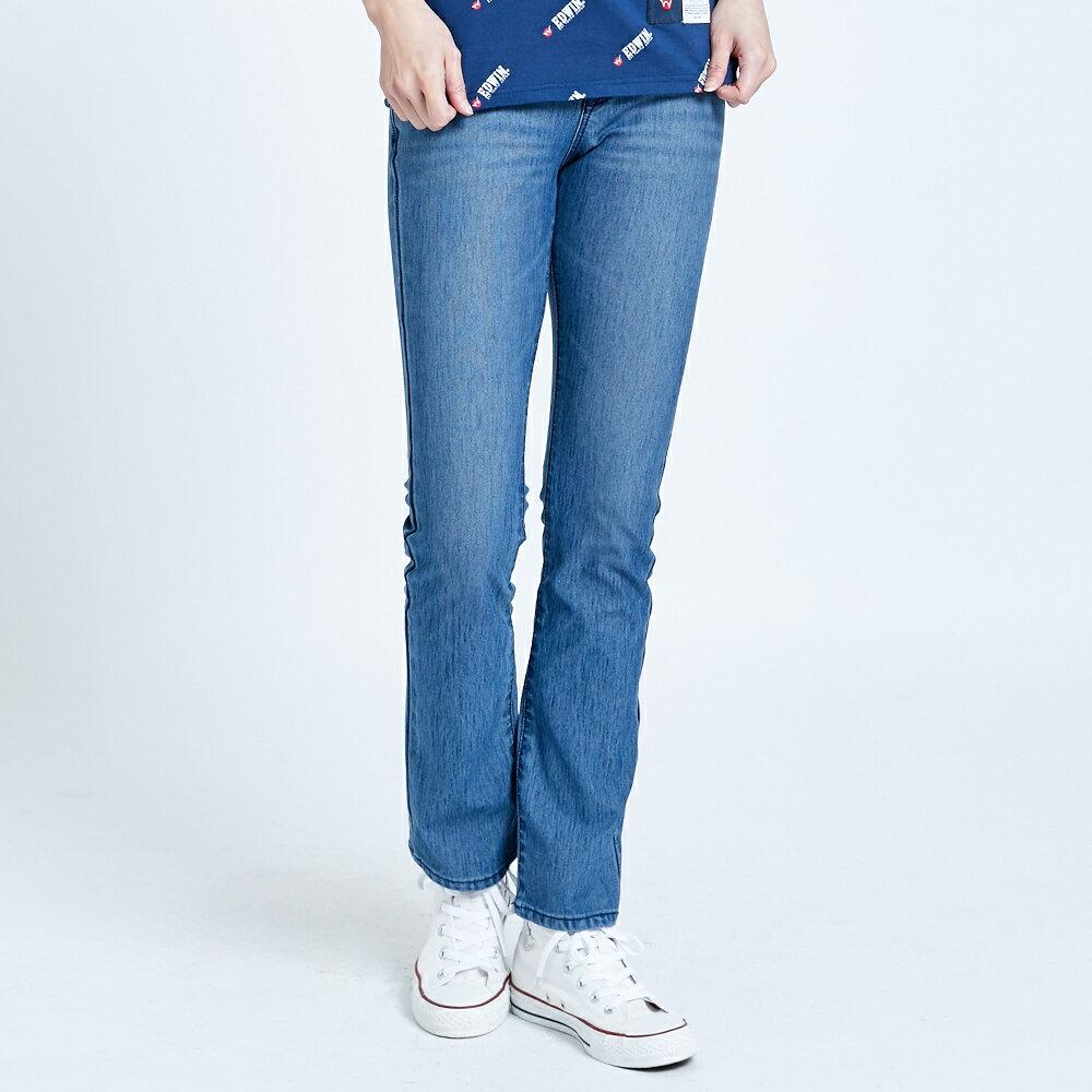 【滿額領券折$150】新品↘EDWIN JERSEYS 迦績 EJ1 超彈力中低腰 靴型牛仔褲-女款 漂淺藍 JOGGER