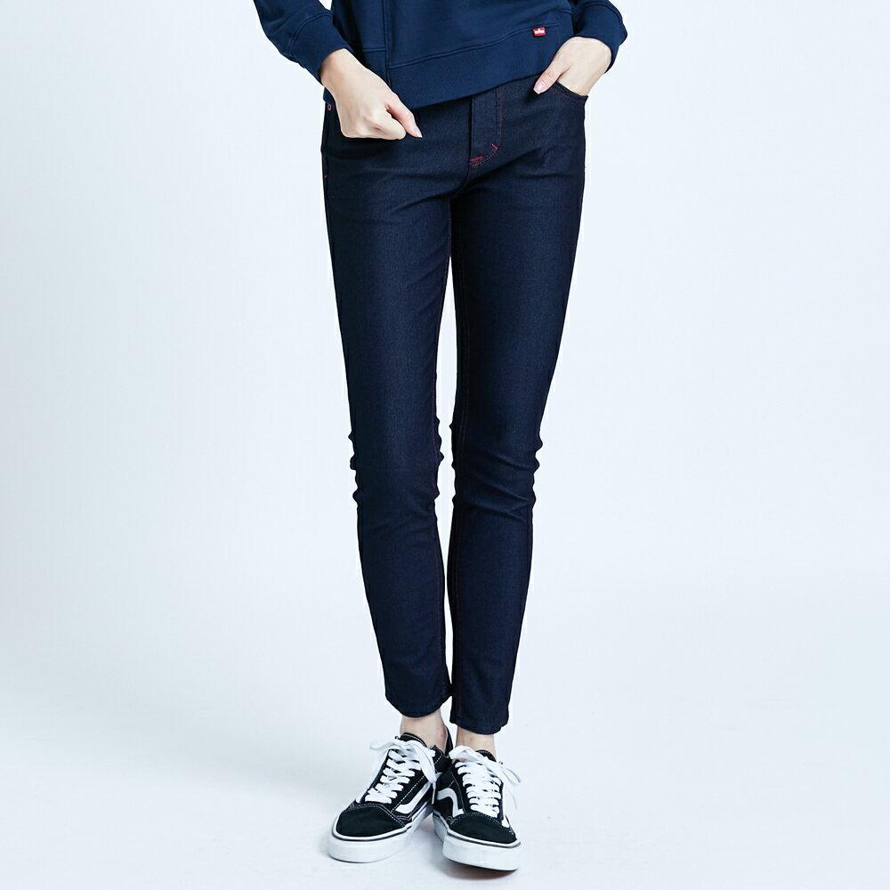 【滿額領券折$150】新品↘EDWIN JERSEYS 迦績 EJ2 超彈低腰窄管牛仔褲-女款 原藍色 JOGGER