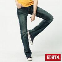 牛仔褲推薦到Miss EDWIN 503 RV純棉中直筒牛仔褲-女款 拔淺藍就在EDWIN推薦牛仔褲
