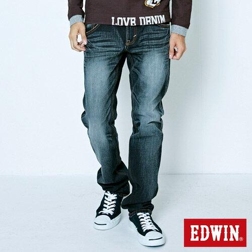 【生日慶最終檔。590丹寧補貨到↘】【零碼】EDWINNEW503五袋直筒褲-男款灰色【525-531限定販售】
