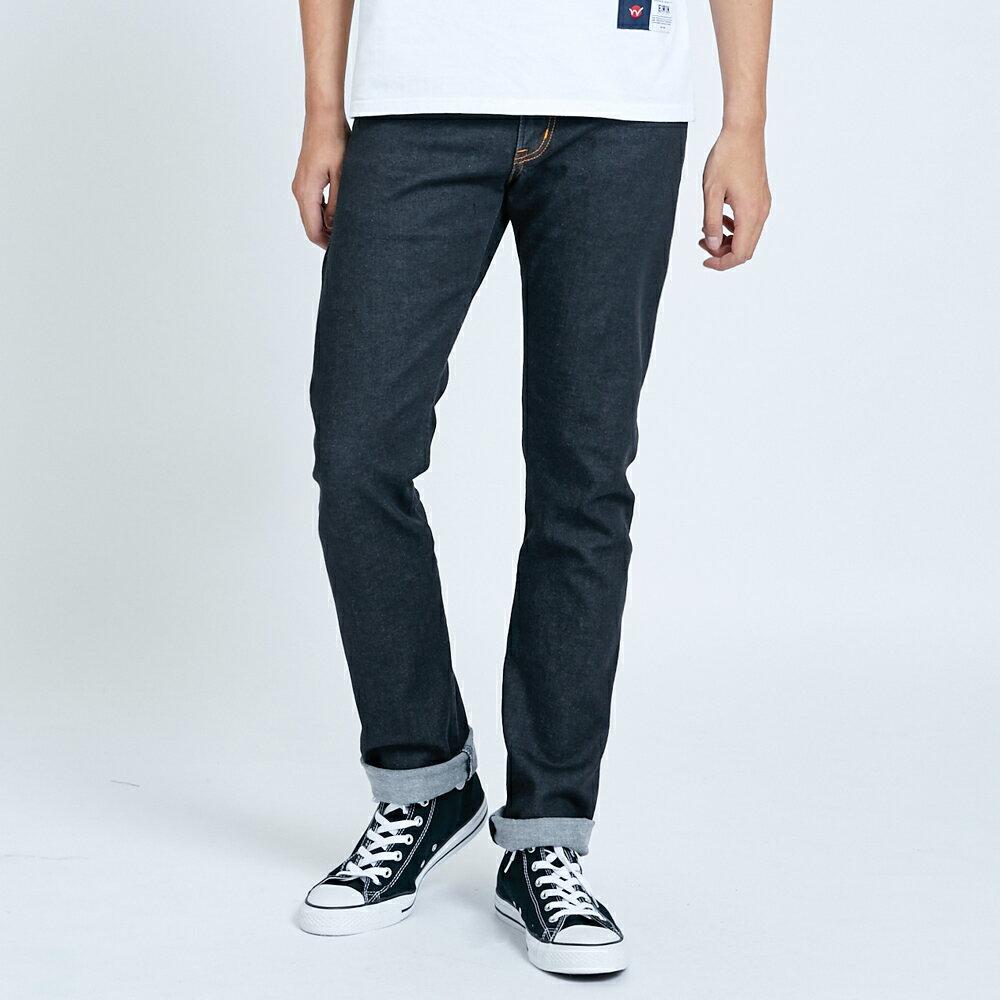 EDWIN 503 ZERO 窄直筒牛仔褲-男款 牛仔黑 SLIM 1