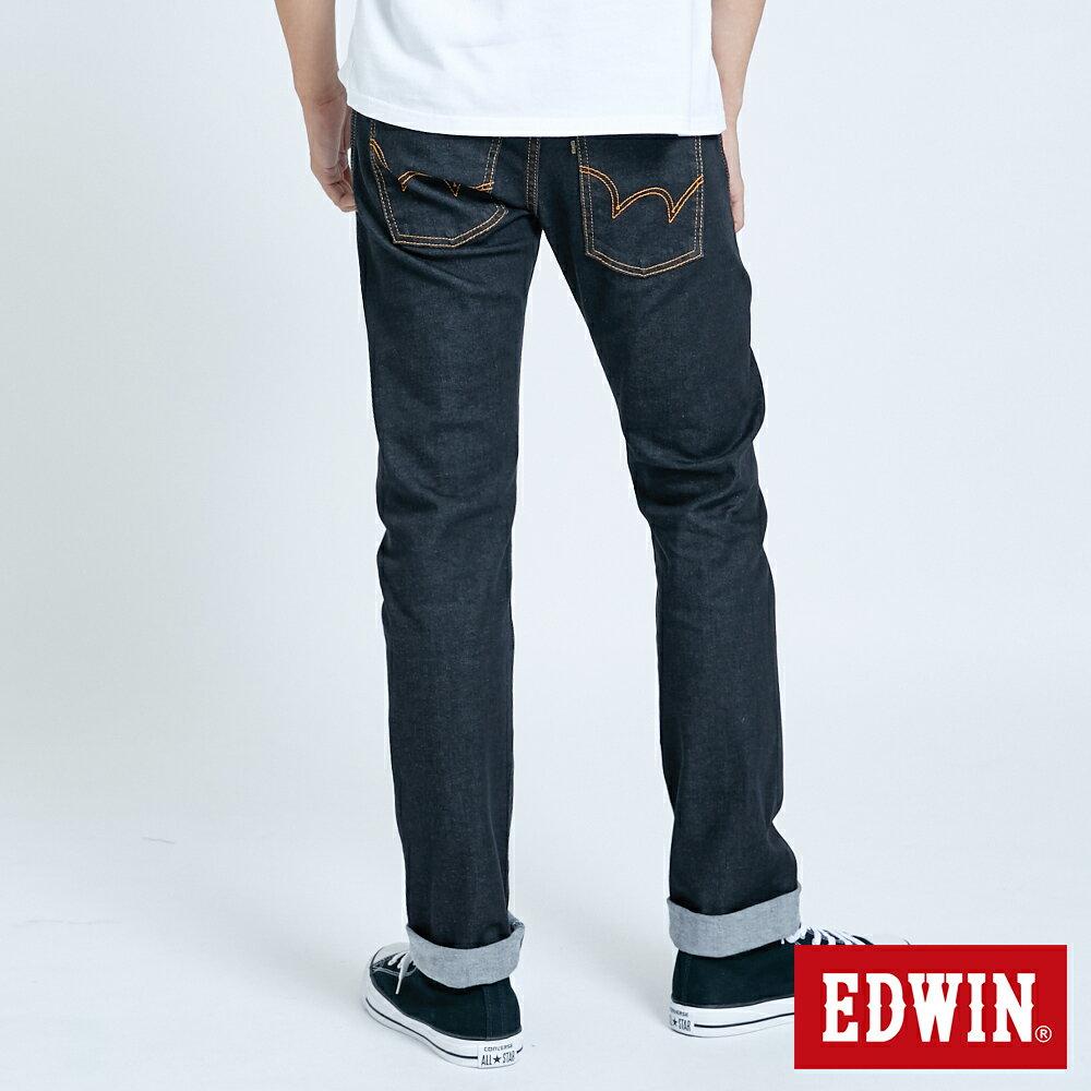 EDWIN 503 ZERO 窄直筒牛仔褲-男款 牛仔黑 SLIM 2
