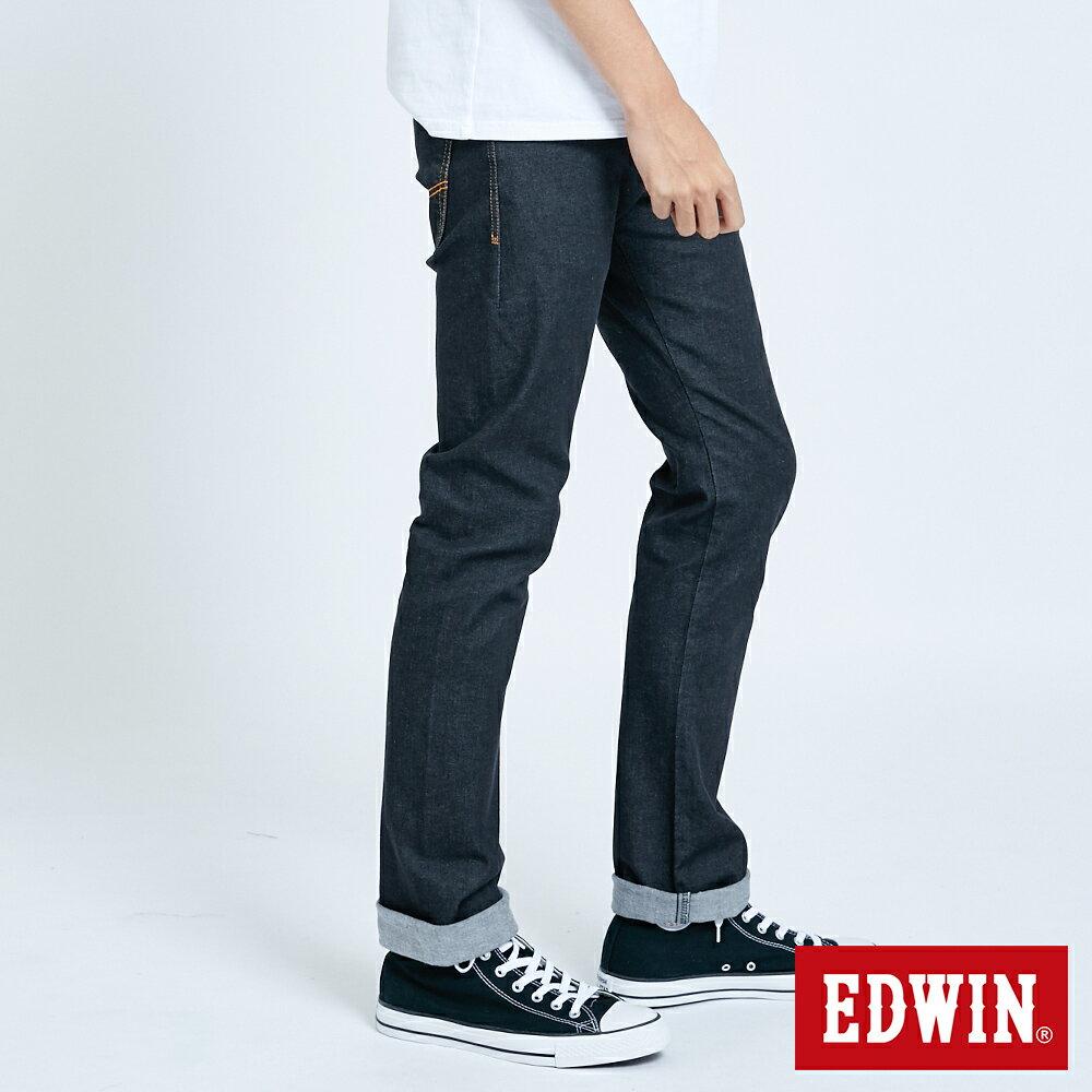 EDWIN 503 ZERO 窄直筒牛仔褲-男款 牛仔黑 SLIM 3