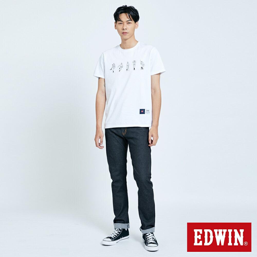 EDWIN 503 ZERO 窄直筒牛仔褲-男款 牛仔黑 SLIM 5