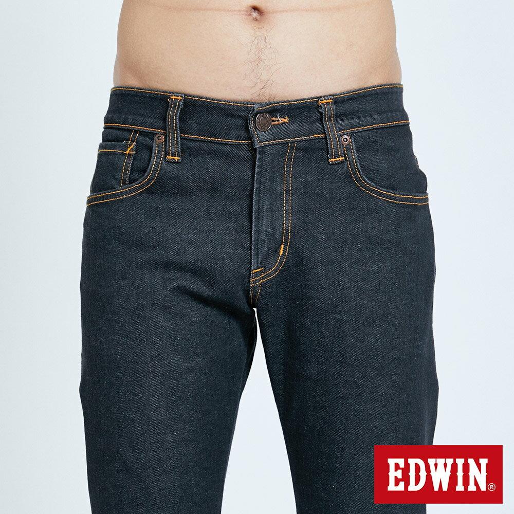 EDWIN 503 ZERO 窄直筒牛仔褲-男款 牛仔黑 SLIM 6