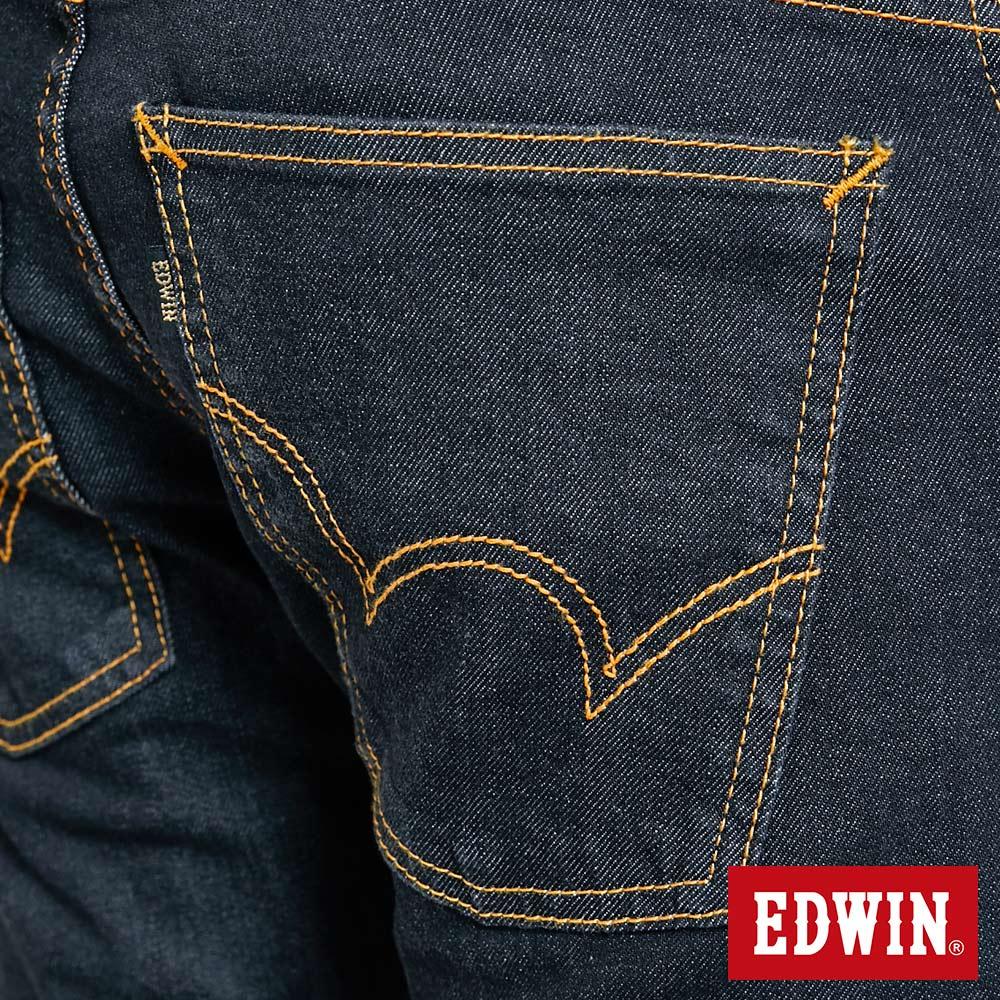 EDWIN 503 ZERO 窄直筒牛仔褲-男款 牛仔黑 SLIM 9