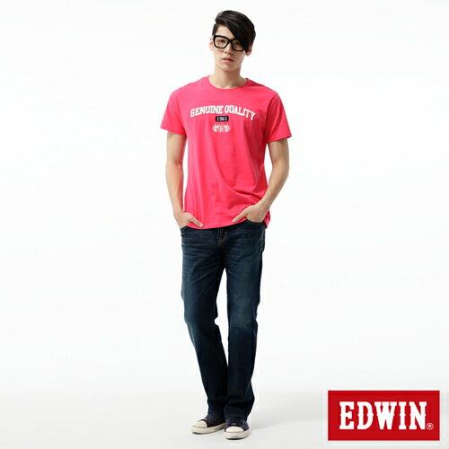 【經典丹寧。990元均一價↘】EDWIN 503 ZERO直筒褲-男款 中古藍 2