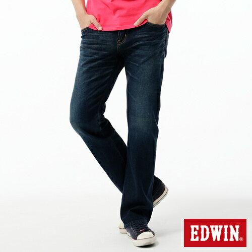【990元優惠↘】EDWIN 503 ZERO 低腰中直筒牛仔褲-男款 中古藍