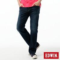 【990元優惠↘】 【零碼】EDWIN 503 ZERO 低腰中直筒牛仔褲-男款 中古藍