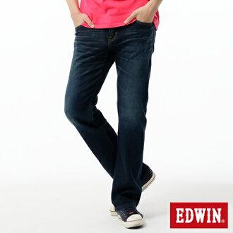 【經典丹寧。990元均一價↘】EDWIN 503 ZERO 低腰中直筒牛仔褲-男款 中古藍【4/25單筆588憑優惠券序號17marathon-2。再折88元】