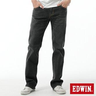 【經典丹寧。990元均一價↘】EDWIN 503 ZERO 低腰中直筒牛仔褲-男款 灰色【4/25單筆588憑優惠券序號17marathon-2。再折88元】