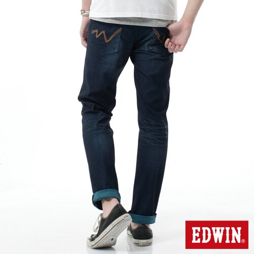 【2000元優惠↘】EDWIN JERSEYS雙色迦績AB褲-男款 寶石藍 1